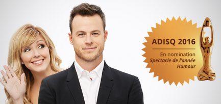 ADISQ 2016 – Les Morissette en nomination